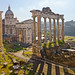 Roman Forum from the Campodoglio, Rome, Italy.