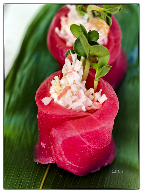 King Crab Stuffed Tuna  Kamehachi