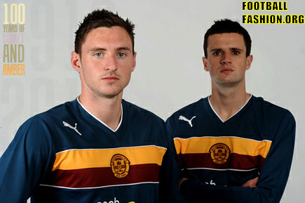 Motherwell FC PUMA 2012/13 Third Soccer Jersey / Football Kit