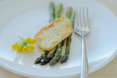 spargel ja halloumi/asparagus with halloumi
