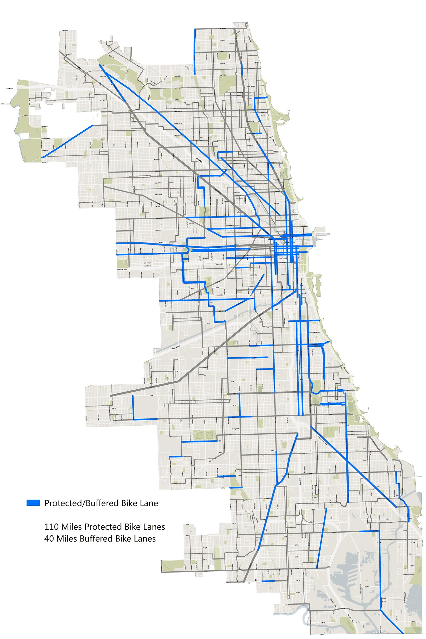 Streets For Cycling Plan 2020 Draft Network Released Bike Uptown Networkdiagramdraft The Chicago Department Of Transportation Cdot Unveiled A Map