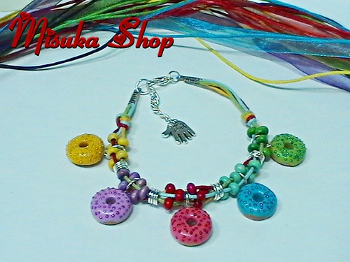 Pulsera Donut's Multicolor Pearls