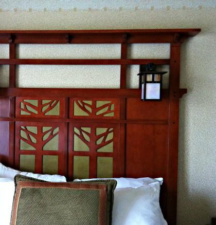 Detalle de la cama