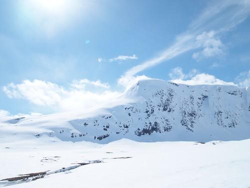 無料写真素材, 自然風景, 山, 雪山, 風景  ノルウェー