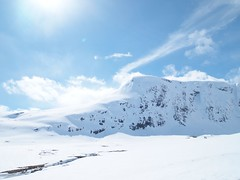 [Free Images] Nature, Mountain, Snow Mountain, Landscape - Norway ID:201205311200