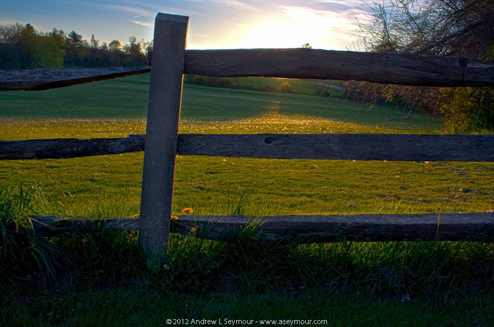 Day 12 - 120420 sunset Shamona Creek es hdr 02