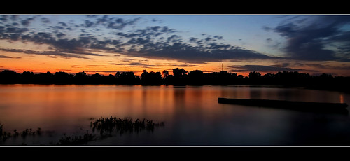 sunset arkansas arkansasriver canon60d