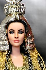 Elizabeth Taylor as Cleopatra - Mattel Barbie