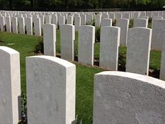 Delville Wood WW1 cemetery in Longueval (France 2012)