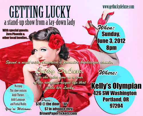Getting Lucky @ Kelly's Olympian