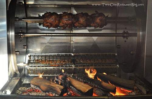 Wood Fired Rotisserie at The Smokin' Oak ~ Red Wing, MN