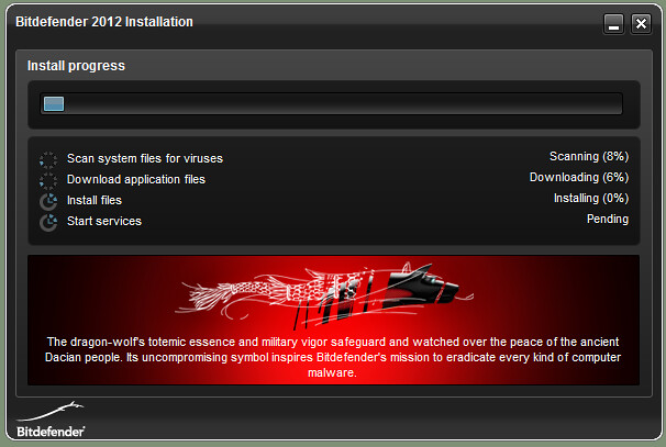 Bitdefender Internet Security 2012 Installation