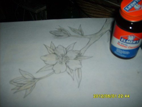 finished rubber cement