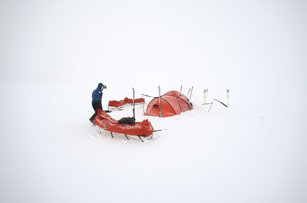 Tent in Greenland