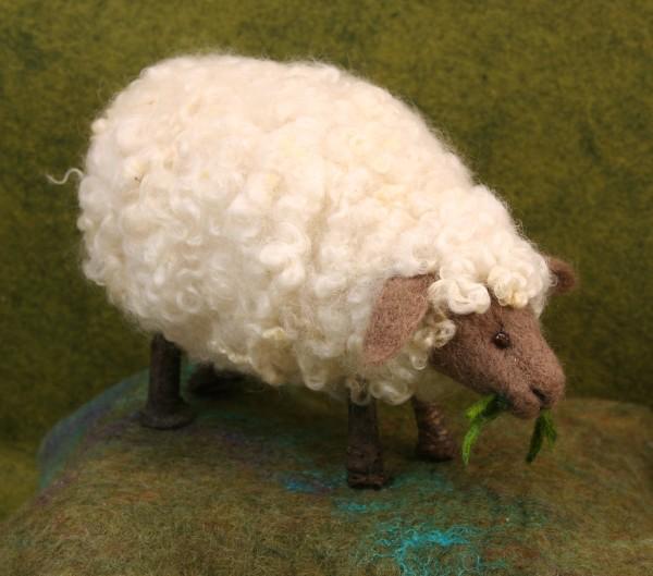 Needle Felted Twig Sheep