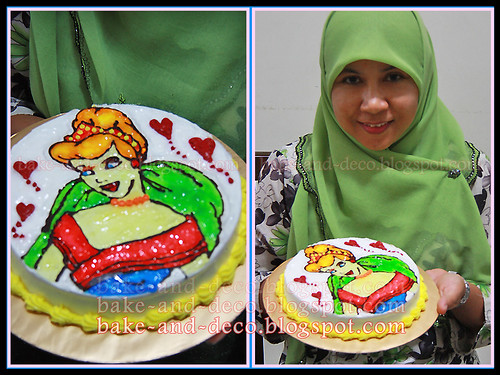 Drawing on Buttercream ~ 24 April 2012