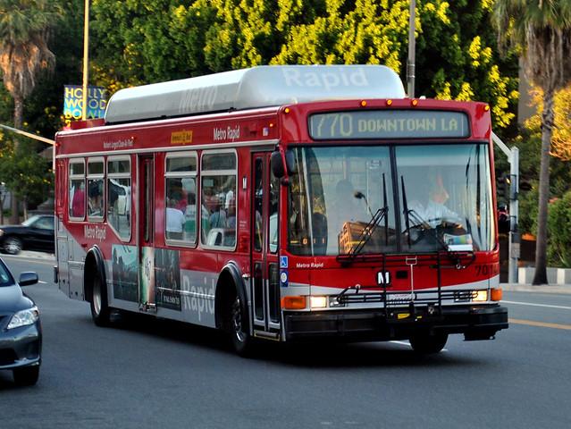 La Metro Rapid Line 770 Bus Los Angeles Ca Flickr