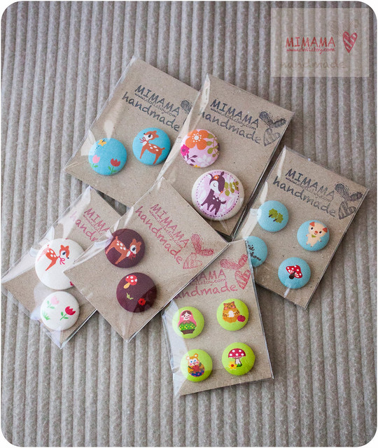 Kawaii buttons ❤❤