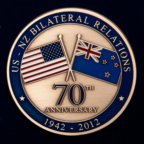 70th Anniversary Coins.