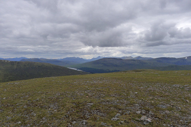 The Mamores beyond Loch Ossian