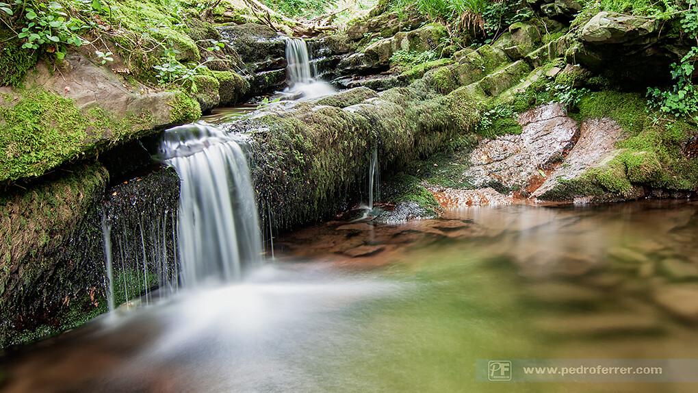 Cascadas de los valles pasiegos - Río Pisueña