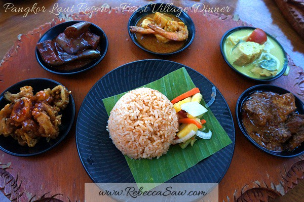 Pangkor Laut Resort - Dinner Feast Village (4)
