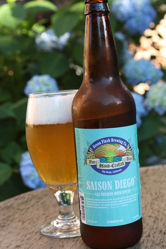 Green Flash Brewing Company Saison Diego