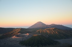horizon, mountain, aeolian landform, hill, ridge, cinder cone, natural environment, morning, fell, landscape, wilderness, shield volcano, badlands, dusk, sunset, sunrise, stratovolcano, mountainous landforms, volcanic landform,
