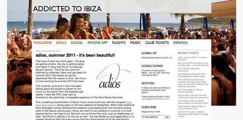 Addicted to Ibiza