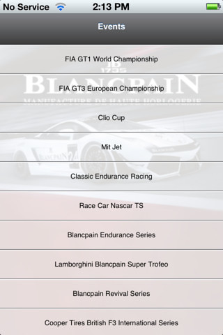 European Championship Auto Racing on Blancpain  Lamborghini Target Auto Enthusiasts With Racing App