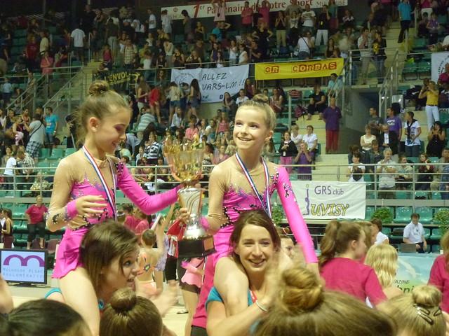 Championnats de France de GR Mulhouse 2012