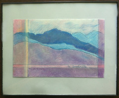 To Leadville (Framed Drawing) by randubnick