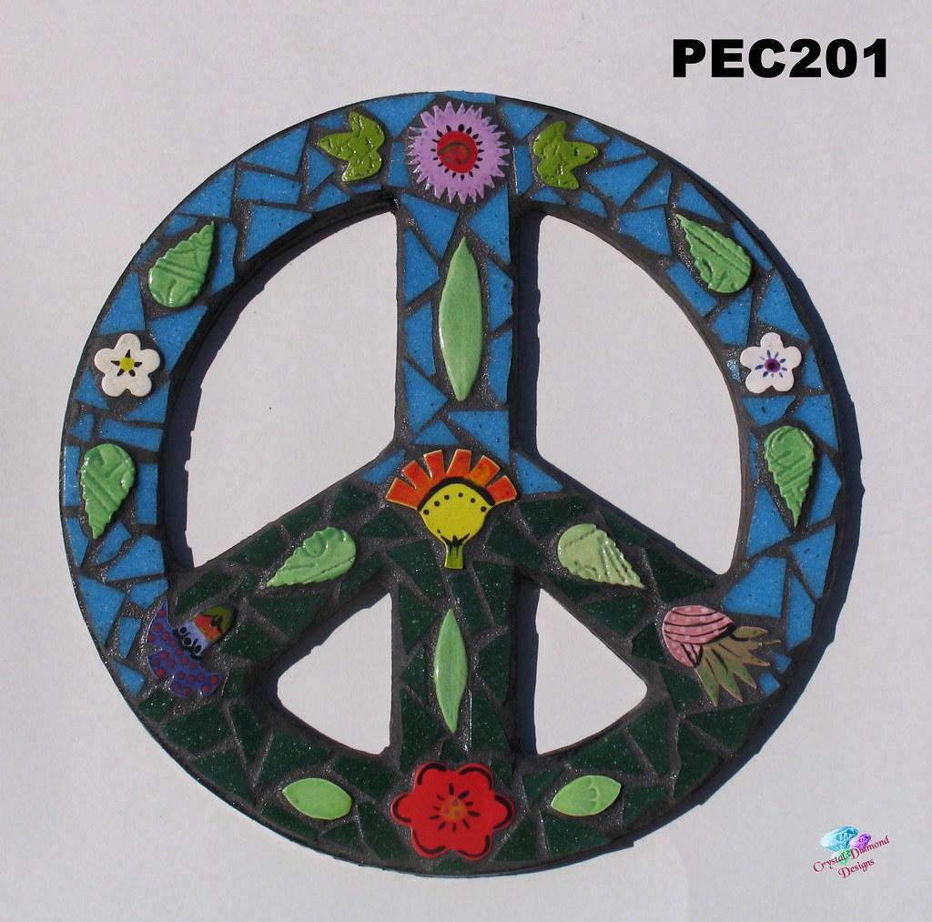 Peace Sign Bathroom Decor