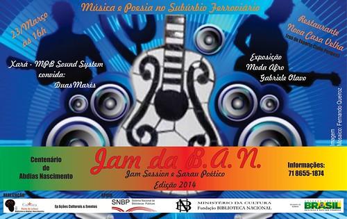 JAM da B.A.N. edição2014 by Biblioteca Abdias Nascimento