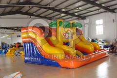 Island style inflatable water slide-02