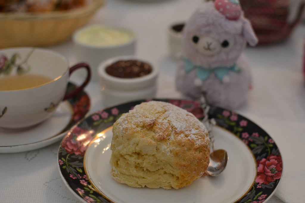 Afternoon tea at the Tea Cosy Irish Tea House