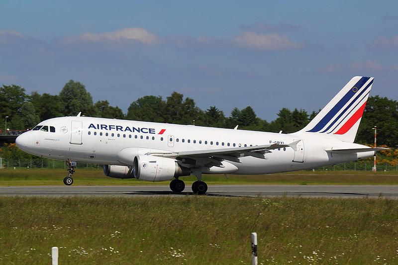 Air France - A319 - F-GRXI