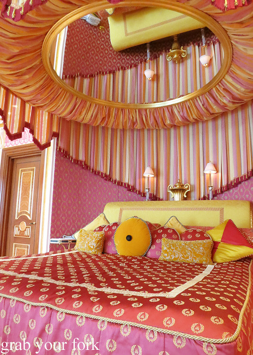 Rotating Master Bed With Mirrored Ceiling In The Royal Suite Of Burj Al Arab,  Dubai