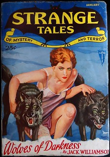 Strange Tales (January, 1932).  The Third Issue of this Short-Lived Pulp Magazine
