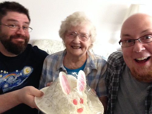 Easter with Grama and bunny cake!! by gmwnet