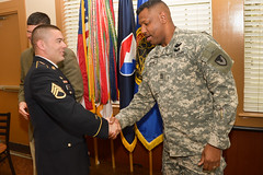 ABERDEEN PROVING GROUND, Md. (April 24, 2014) -- Staff Sgt. David Carter earned top honors following a week of rigorous competition among four noncommissioned officers.   Carter captured the award April 24 as the U.S. Army Research, Development and Engineering Command's NCO of the Year.   Read more:...