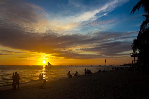 ocean sunset sea beach landscape asia view sundown philippines boracay 风景 日落 落日 海洋 夕阳 kalibo 大海 海景 亚洲 沙滩 菲律宾 火烧云 长滩