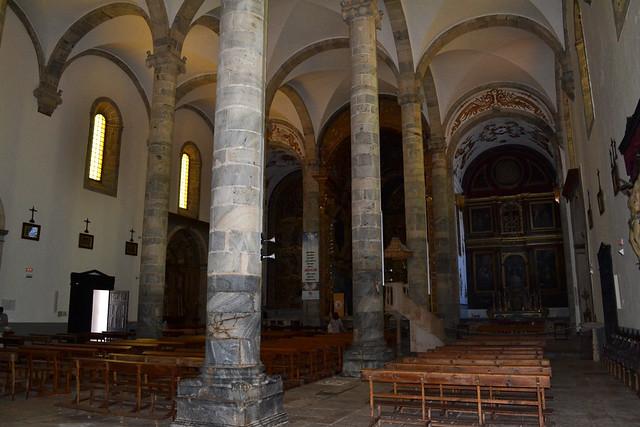Interior de Iglesia de Santa María del Castillo