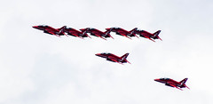 Red Arrows Over Putney