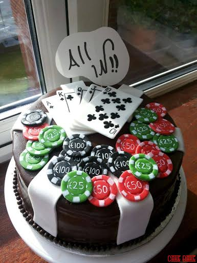 Poker Bet Cake by Mridula Trivedi of CakeBake