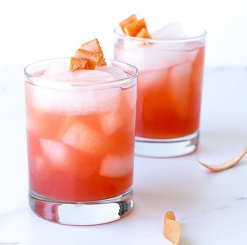 """This Blood Orange Negroni I created for @sofabfood is the perfect way to brighten your summer! . You can find the recipe for this seasonal twist on a classic Italian, gin-based cocktail on the @sofabfood blog! . Clickable link in bio --> http://www.sofabf"""">    </p><!-- adman_adcode (middle, 1) --><script type="""