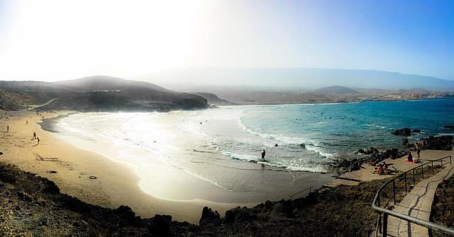 Esta playa es un sueño. Playa Grande ¡Porís de Abona!
