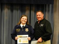 FFA Scholastic Award Winner