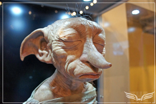 The Establishing Shot: The Making of Harry Potter Tour - Creature Shop Incredibly life like Dobby Model' head by Craig Grobler