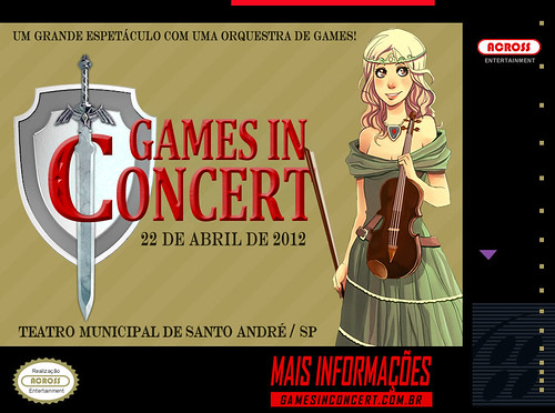 Campanha Capas — Première 'Games In Concert' —  Super NES
